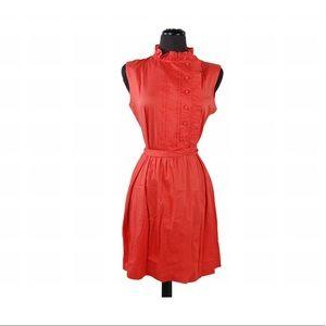 Vintage 1990s Coral Summer Dress
